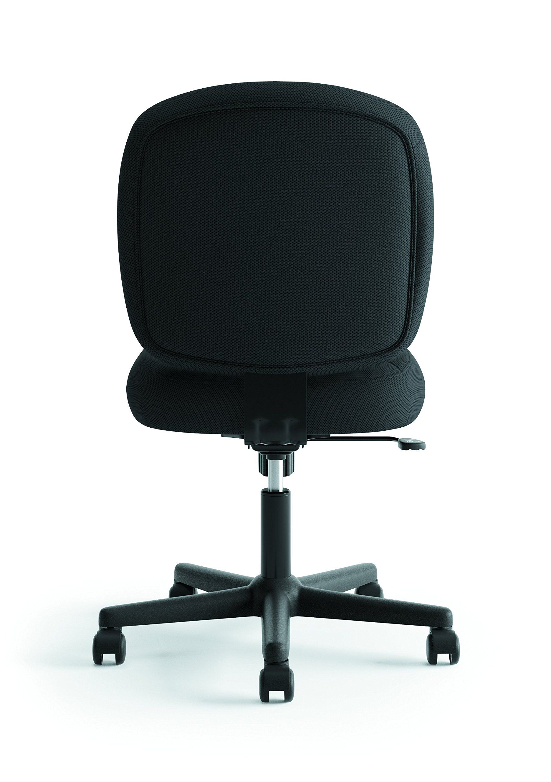 Hon Valutask Low Back Task Chair Mesh Computer Chair For Office Desk Black Hvl210 To Vi Modern Home Office Furniture Modern Home Office Mesh Computer Chair