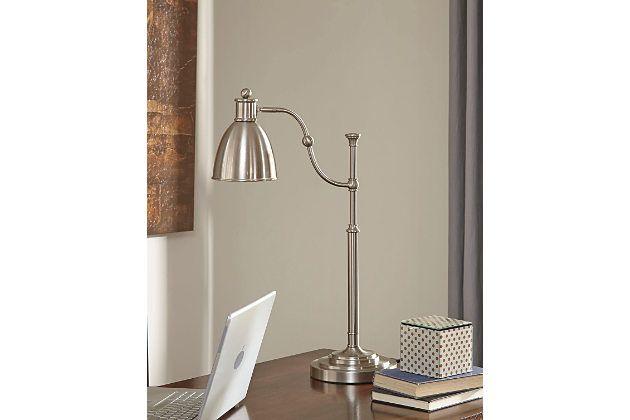 Silver Finish Shavaun Desk Lamp by Ashley HomeStore