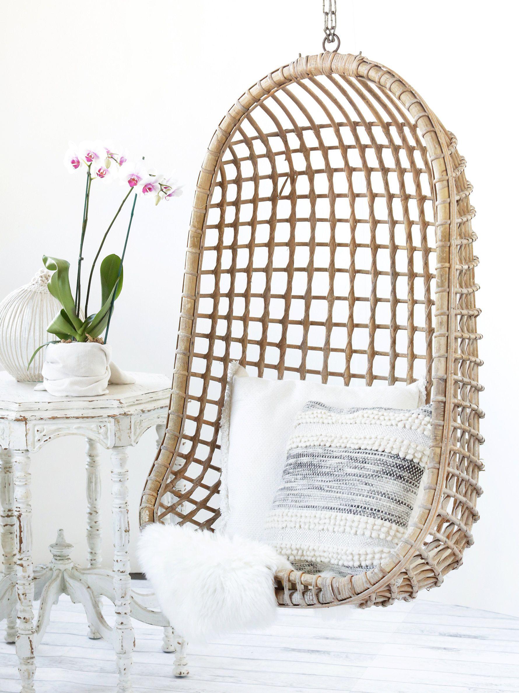 Vintage Rattan Hang Chair