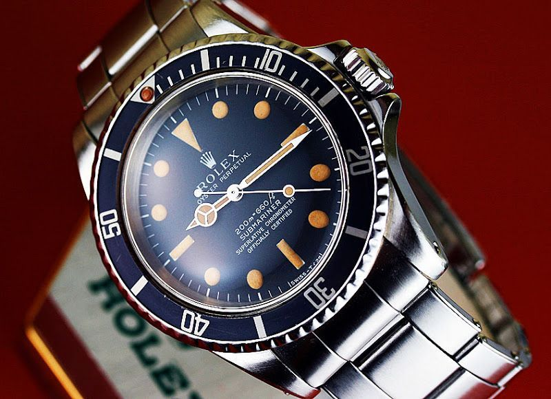 Rolex Submariner Reference 5512 From 1966 In 2020 Rolex Vintage Watches Rolex Watches