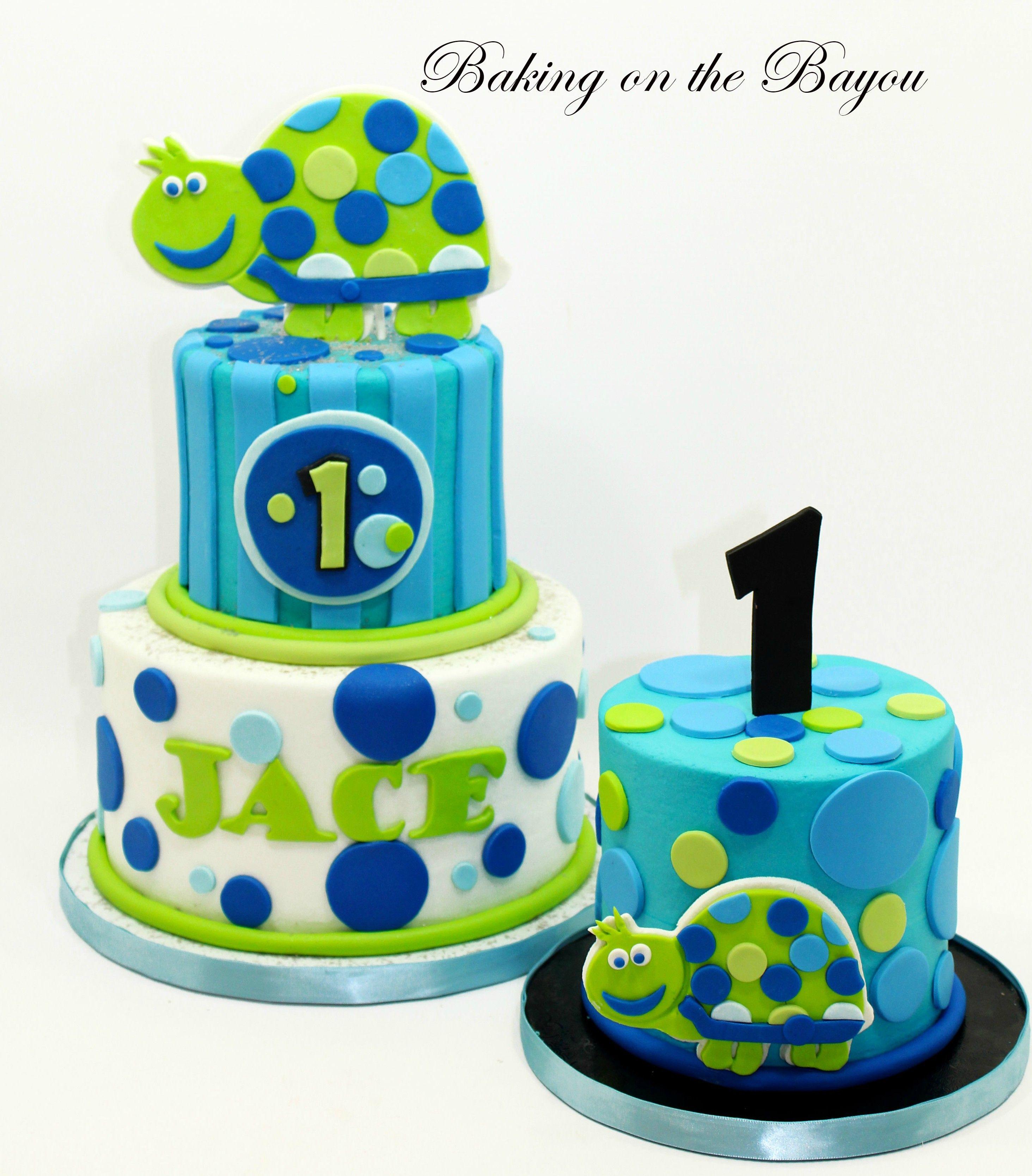 Turtle Birthday Cake Boy Cakes Pinterest Turtle Birthday