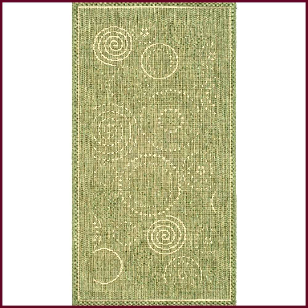 Safavieh Courtyard OliveNatural 3 ft x 5 ft IndoorOutdoor Area Rug Safavieh Courtyard OliveNatural GreenNatural 3 ft x 5 ft IndoorOutdoor Area Rug Informations About Safa...