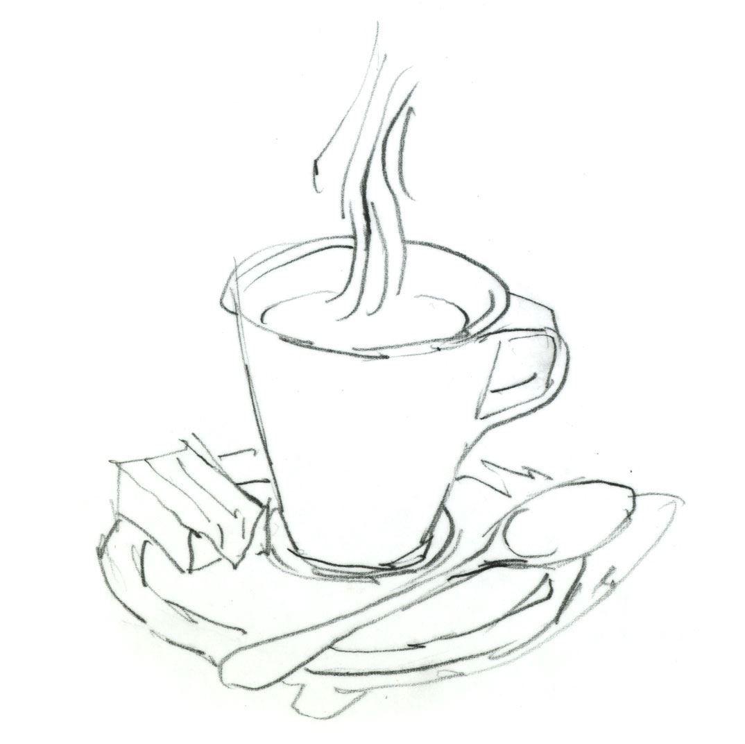 Espressotasse Als Malvorlage Und Ausmalbild In 2020 Espressotassen Ausmalbild Ausmalen