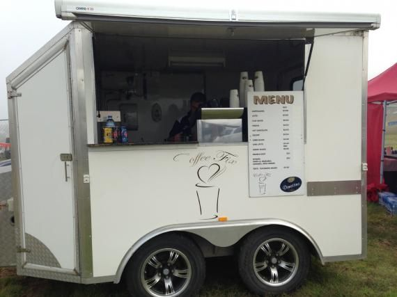 Mobile Coffee Van With All Accessories For Sale In Vic