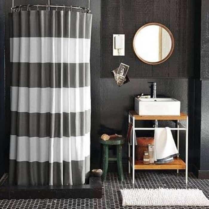 modern shower curtain for bathroom  bathroom design small