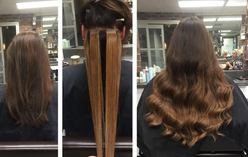 Tape extensions damage