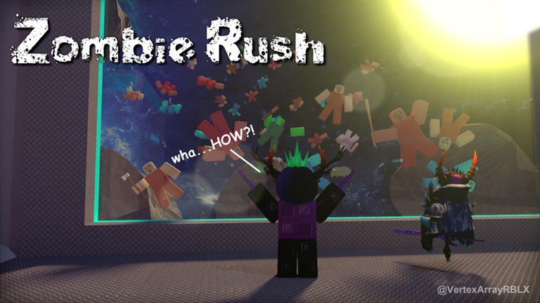 Zombie Rush Roblox Zombie Attack Waves After Waves The - roblox zombie attack all maps