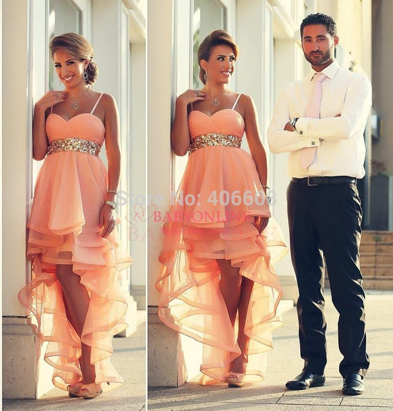 Find More Evening Dresses Information about 2015 Fashion Spaghetti Straps Sweetheart Tulle Crystal Coral Prom Dresses Backless Pageant Evening Dresses For Special Occasion,High Quality dresse,China dress pet Suppliers, Cheap dresses girls size 8 from Forever Lover Bridal on Aliexpress.com
