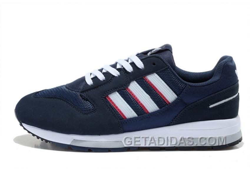 Best Drop Shipping Adidas ZX 500 Womens running shoes Blue green purple[M19355]