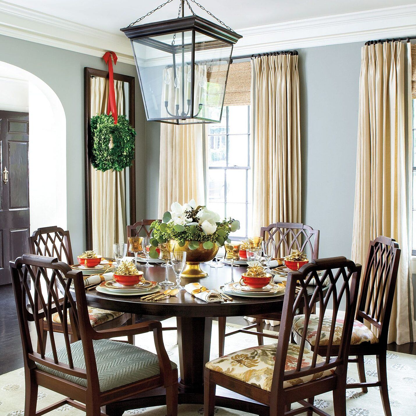100 Best Ever Christmas Decorating Ideas Dining Room Table Centerpieces Decor Dining Room Table