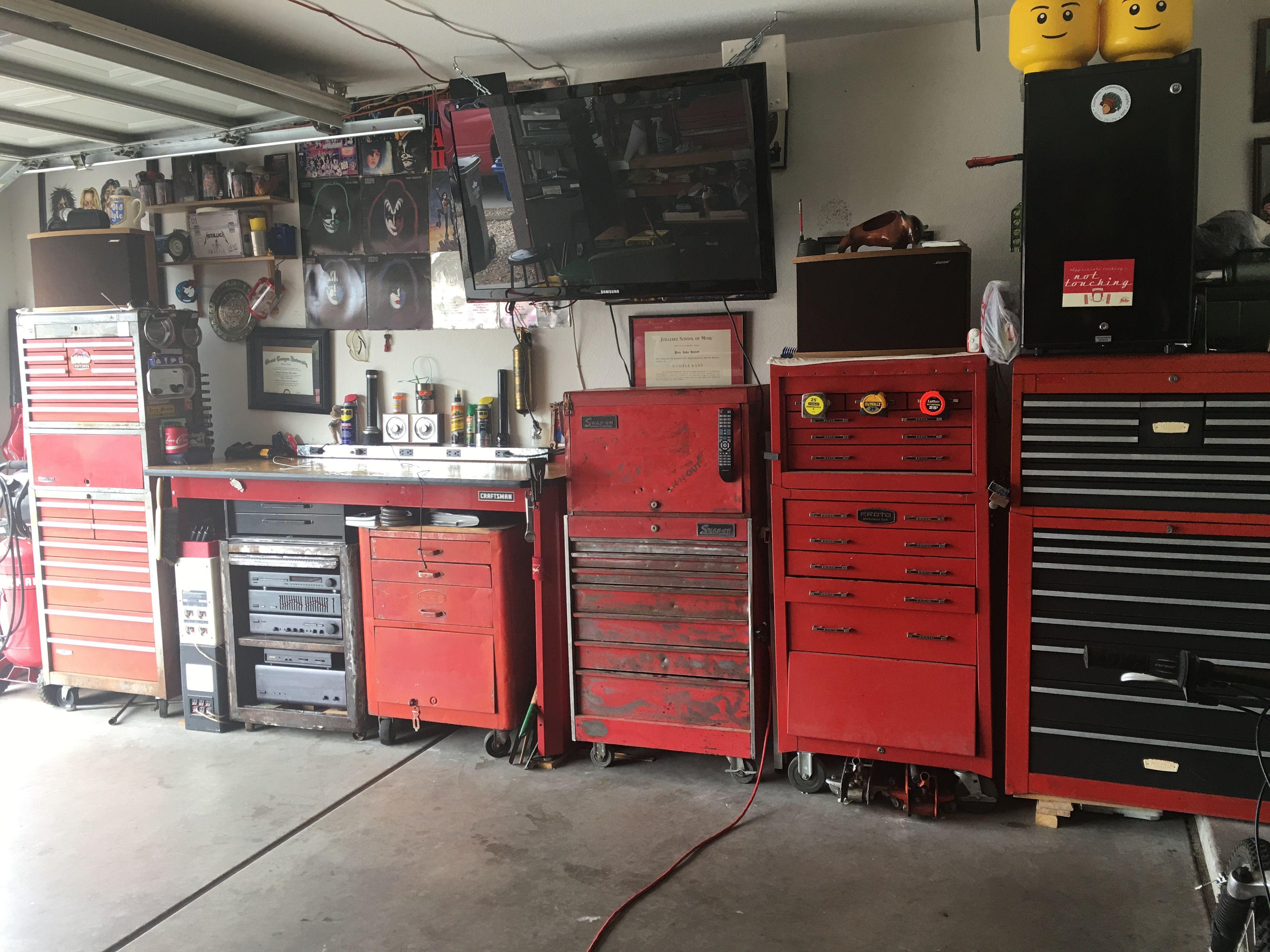 Vintage Tool Chest Vintage Tools Garage Workshop Shed Storage