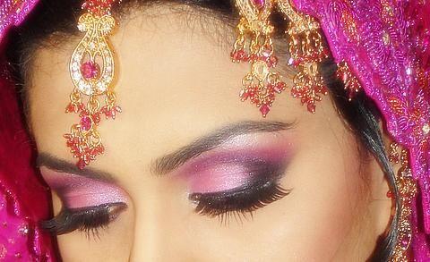 Bridal Eye Makeup - Continued!
