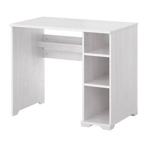 Piano Tavolo Ikea.Borgsjo Scrivania Ikea Raggruppa Cavi E Prolunghe Sul