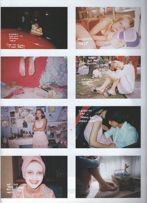"""Flashback: Editorial sobre """"Las Vírgenes Suicidas"""", por Corinne Day y Sofia Coppola (2000) Virgenes Suicidas – Viste la Calle"""