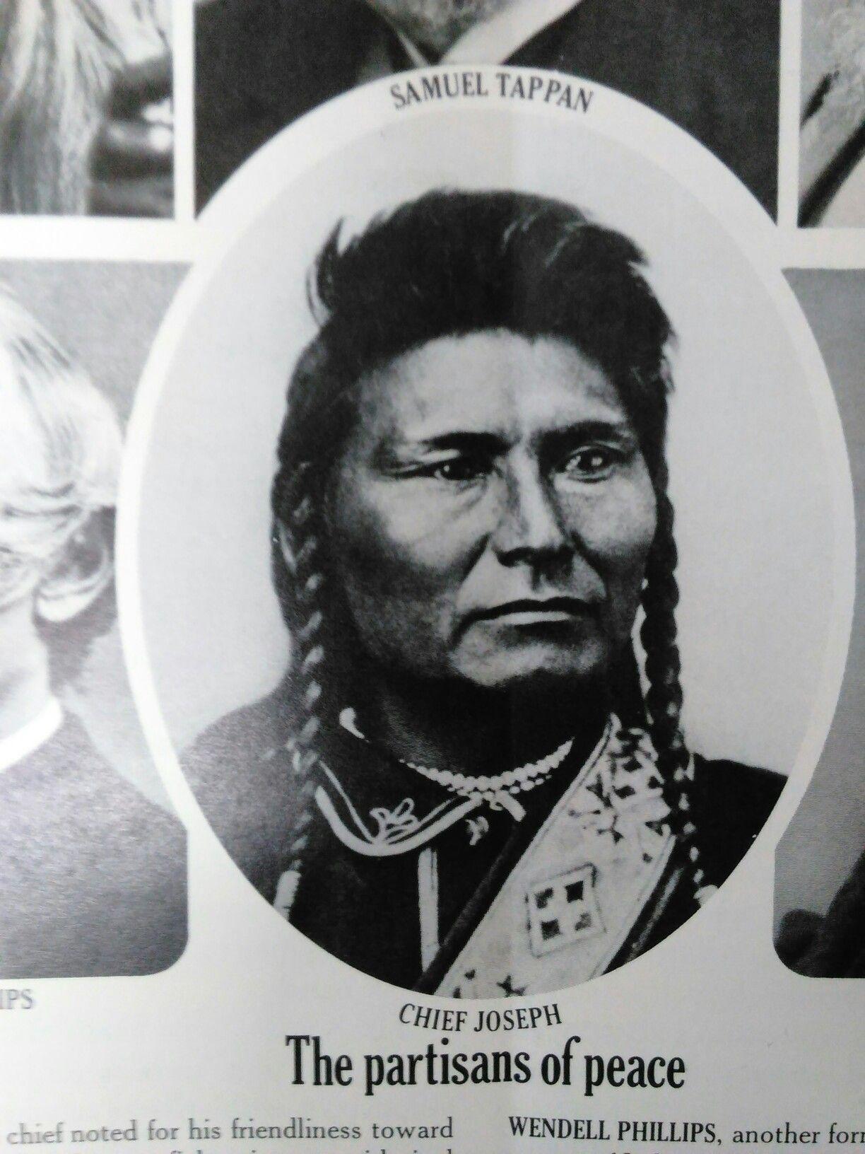 Indian Chief Joseph