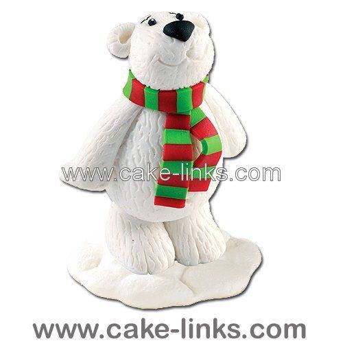 Claydough Polar Bear