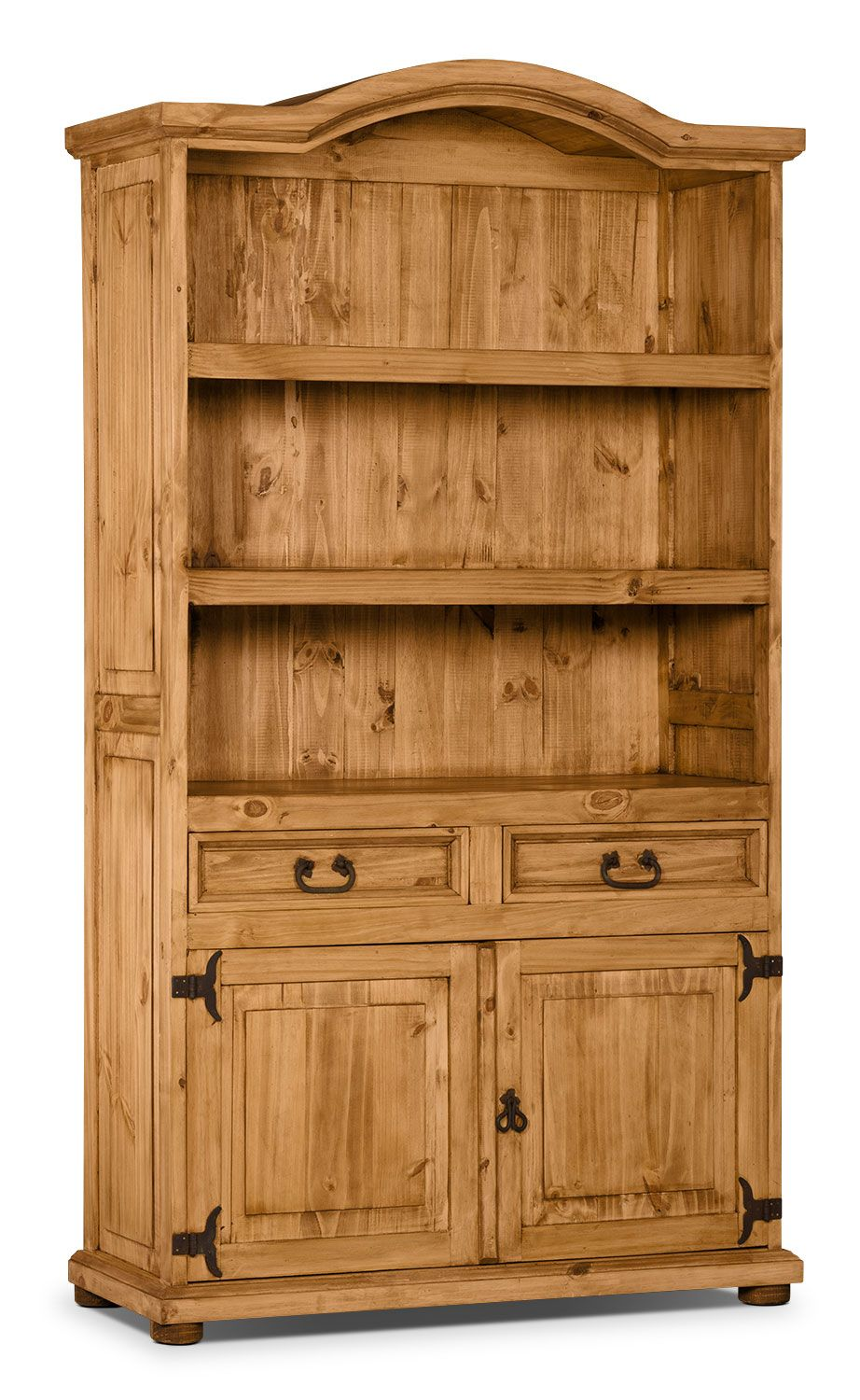 Accent And Occasional Furniture Santa Fe Rusticos Solid Pine Provenzal Bookcase