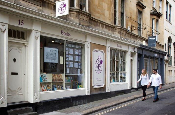 Mr B's Emporium of Reading Delights - Shop in Bath ...