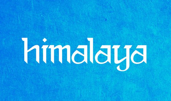 himalaya #neptouch #nepal #devanagari inspired   Design to Provoke