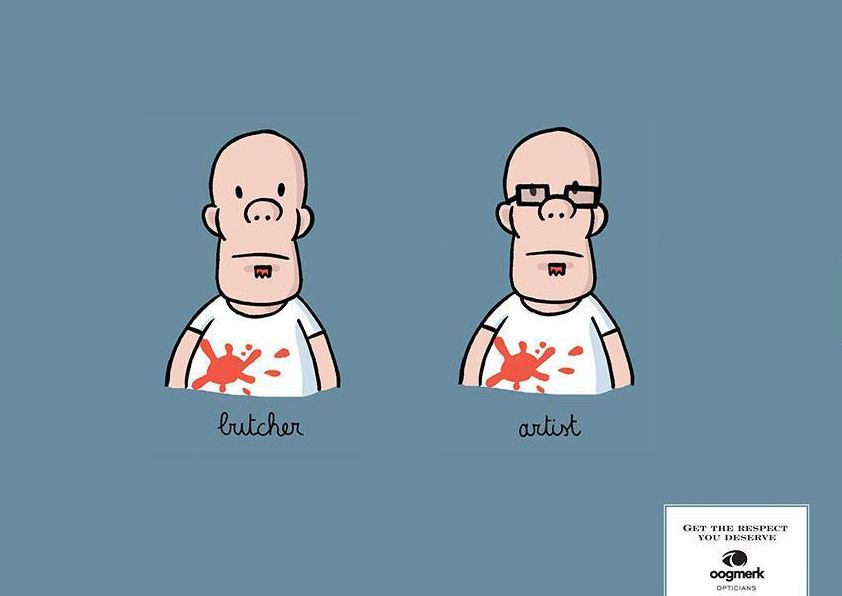[海報設計]眼鏡行銷平面廣告 | Funtory設計生活