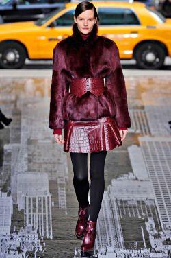 Burgundy DKNY