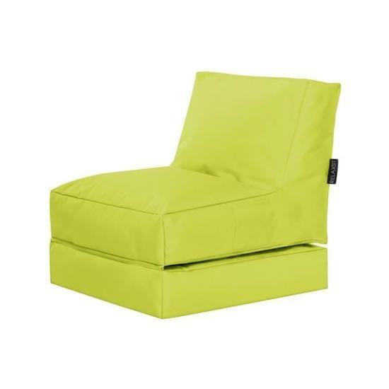 Fauteuil Multifonction Twist Vert Anis By Sittingp En 2020 Fauteuil Lit 1 Place Fauteuil Et Fauteuil Pouf