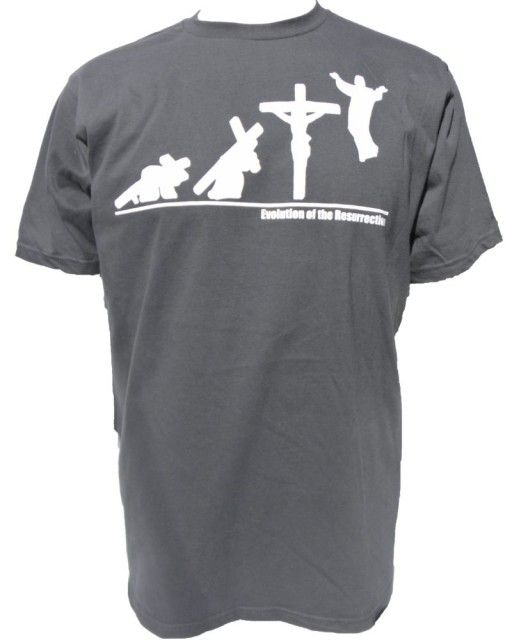2f127b2a Evolution of the Resurrection Christian T-Shirt | Random T-Shirts ...