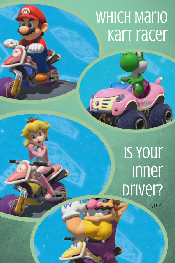 Which Mario Kart Racer is your inner Driver? Quiz | Video Games