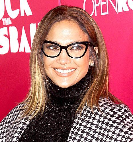 Jennifer Lopez Cat Eye Glasses