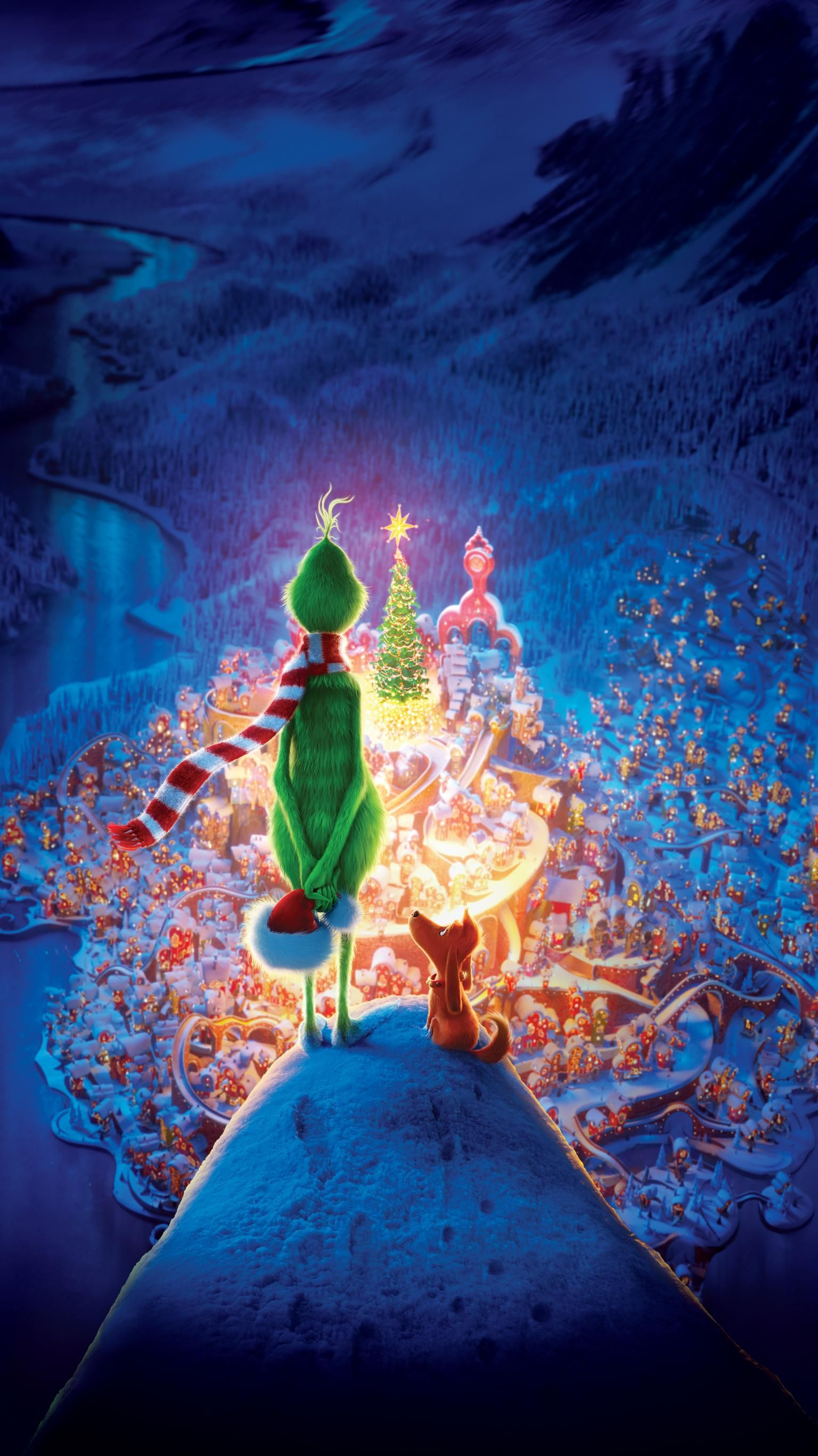 The Grinch 2018 Phone Wallpaper Moviemania Christmas Wallpaper Iphone Cute Cute Christmas Wallpaper Wallpaper Iphone Christmas