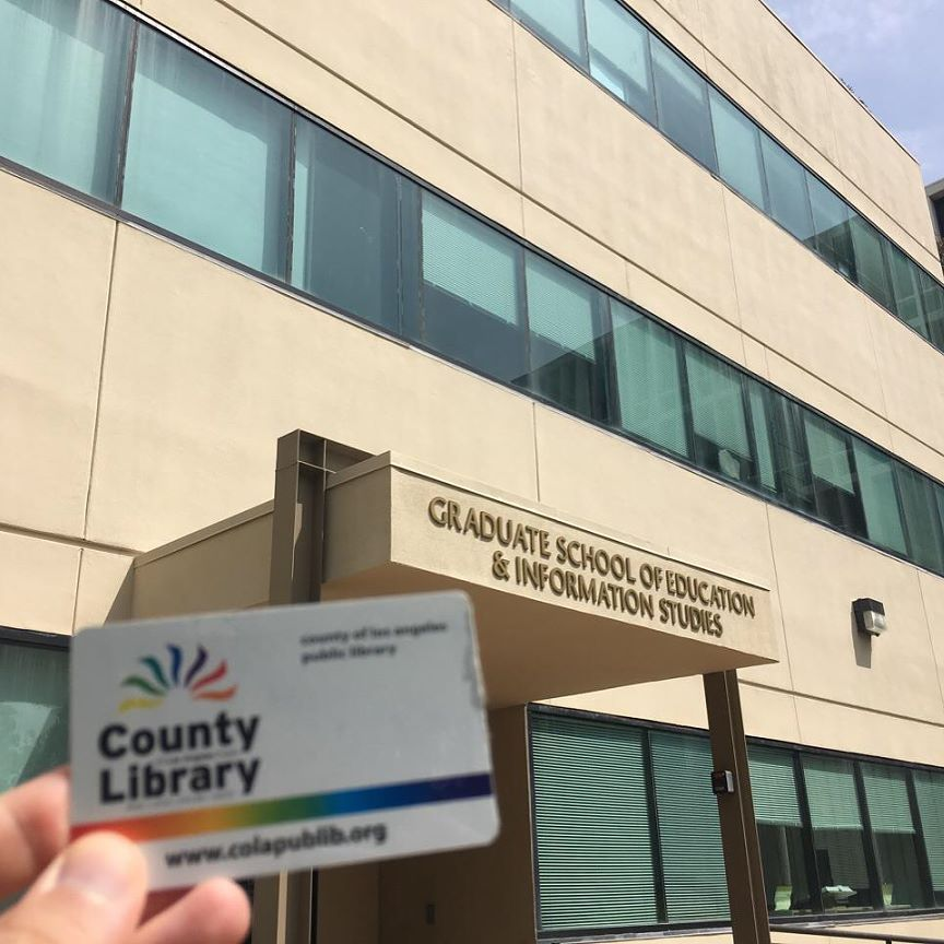 Where In The World Is Your Lacountycard Ours Is At The Ucla Graduate School Of Information Studies For To Graduate School Community Library Online Education