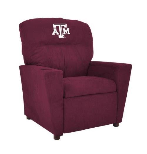 Texas A&M University Microfiber Tween Recliner