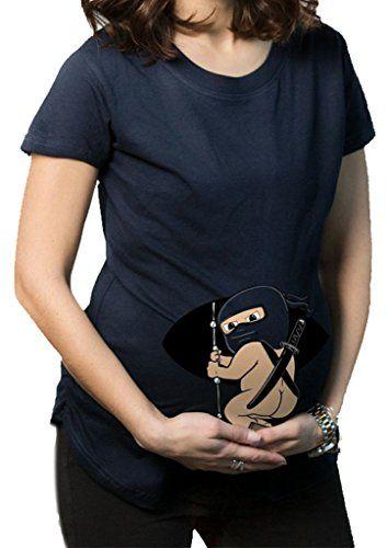 damen ninja baby schwanger kost m zu karneval halloween. Black Bedroom Furniture Sets. Home Design Ideas