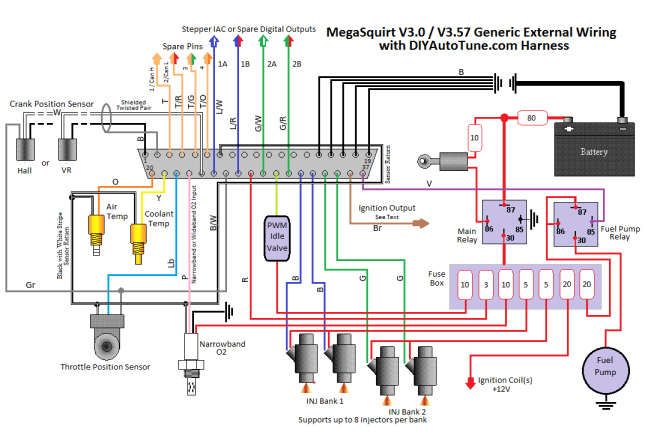 Megasquirt Wiring Diagram Thumbnail Securitydiy Motorcycle Wiring Automotive Electrical Fuel Injection