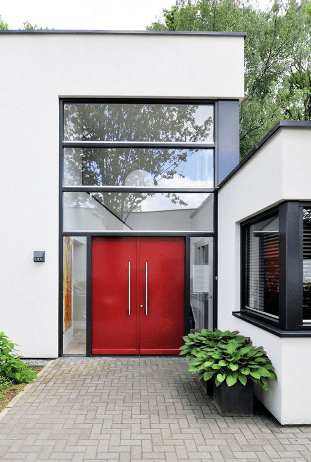 Red Door Home Two Simple Ideas To Add Character To Your: PANTONE AURORA RED