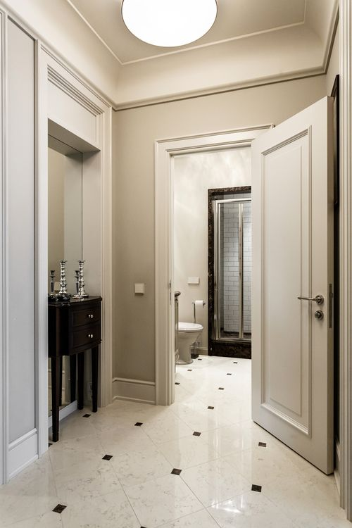 Apartment interior in moscow architecture bathroom also rh pinterest