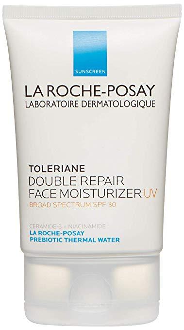 Amazon Com La Roche Posay Toleriane Double Repair Moisturizer With Spf 30 2 5 Fl Oz Lux Moisturizer With Spf Moisturizer For Sensitive Skin La Roche Posay