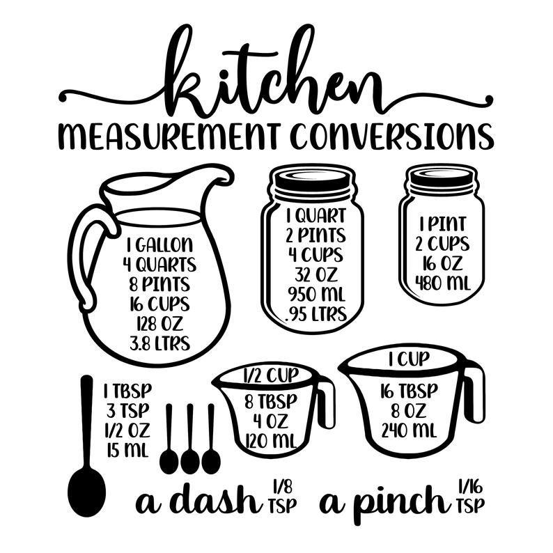 20++ Kitchen measurements svg free inspirations