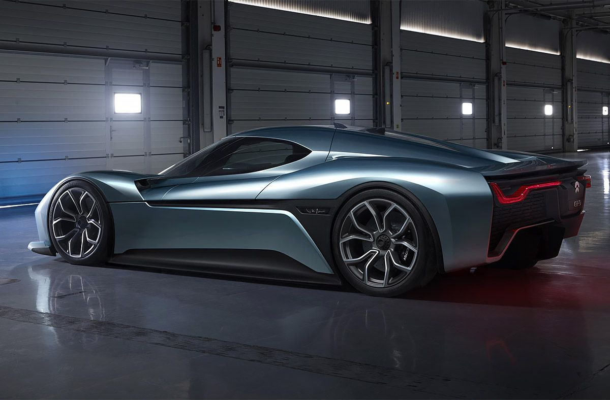 Developed By Chinese Startup Nextev The Nio Ep9 Recently Set A World Record Lap Time Of Seven Minutes And Five Seconds A Super Cars Electric Car Electric Cars