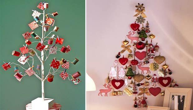 Árvores de Natal criativas - DECORAÇÃO