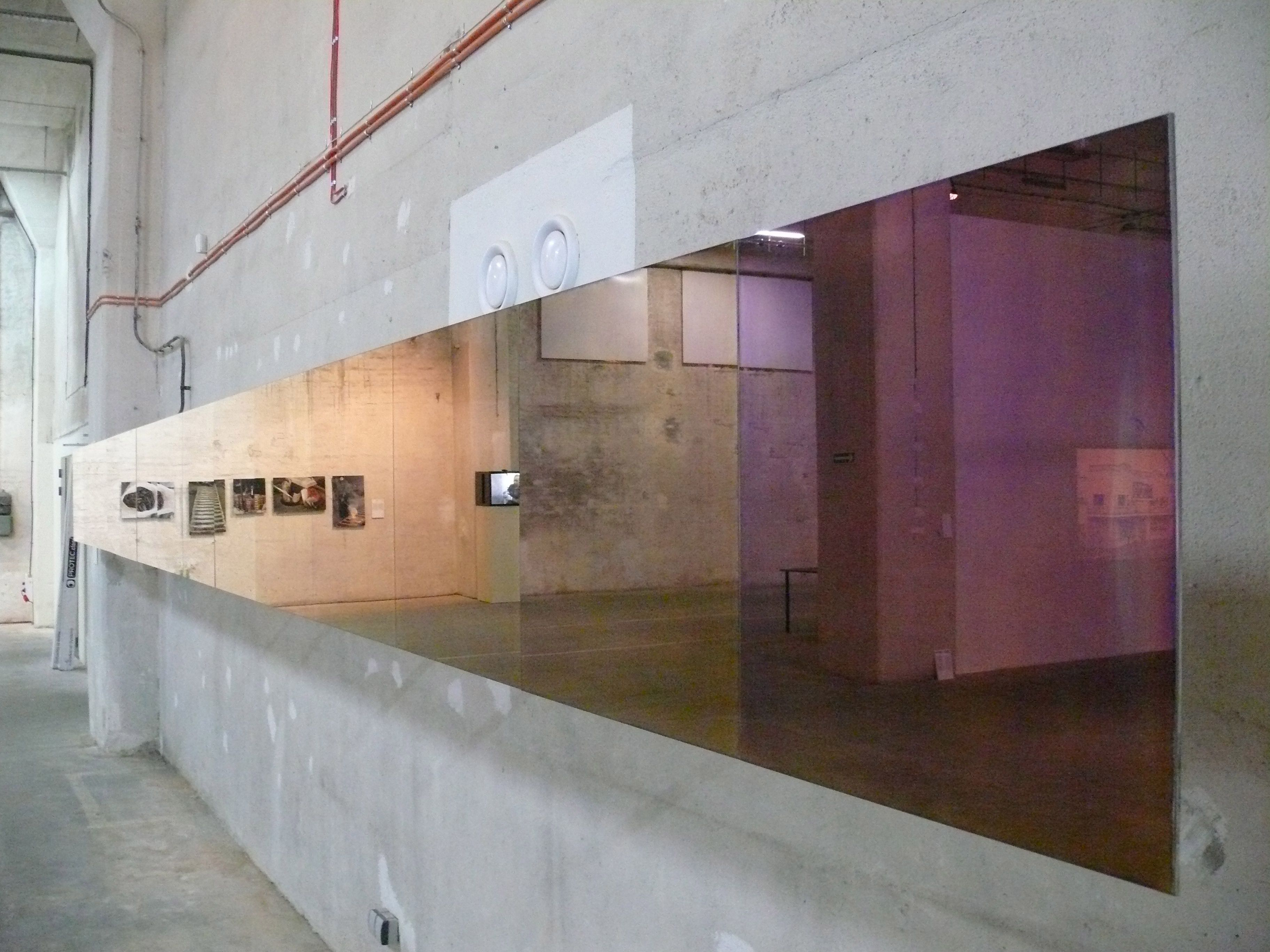 Mirrors installation gradient effect lex pott and for Mirror installation