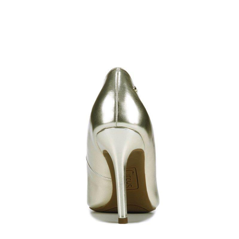 e4651b699528c9 Circus by Sam Edelman Women s Mina Pump Shoes (Gold Smooth)  pumpshoes