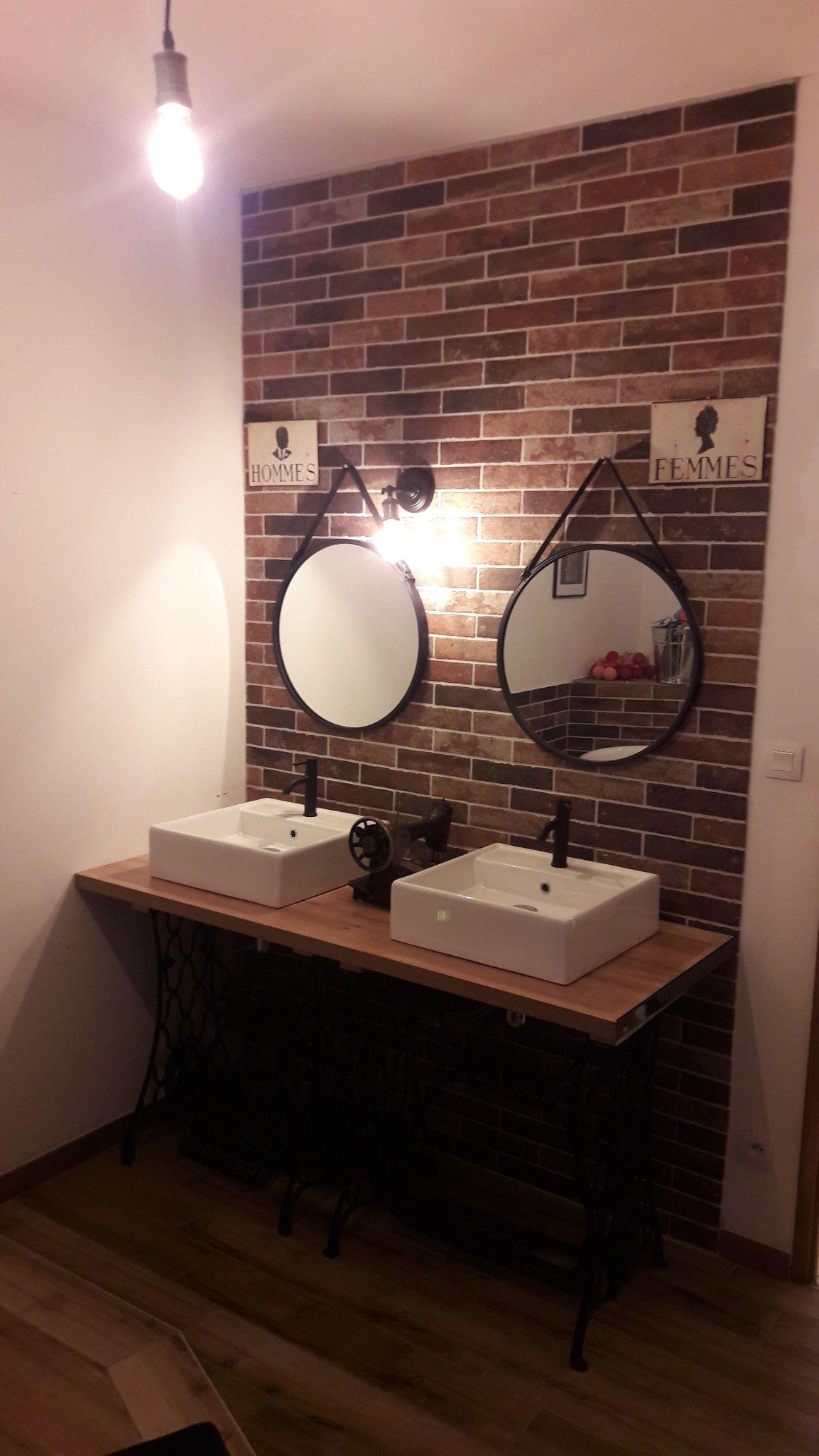 Vasque Sur Pied Avec Meuble meuble double vasque à partir de deux pieds de machine à