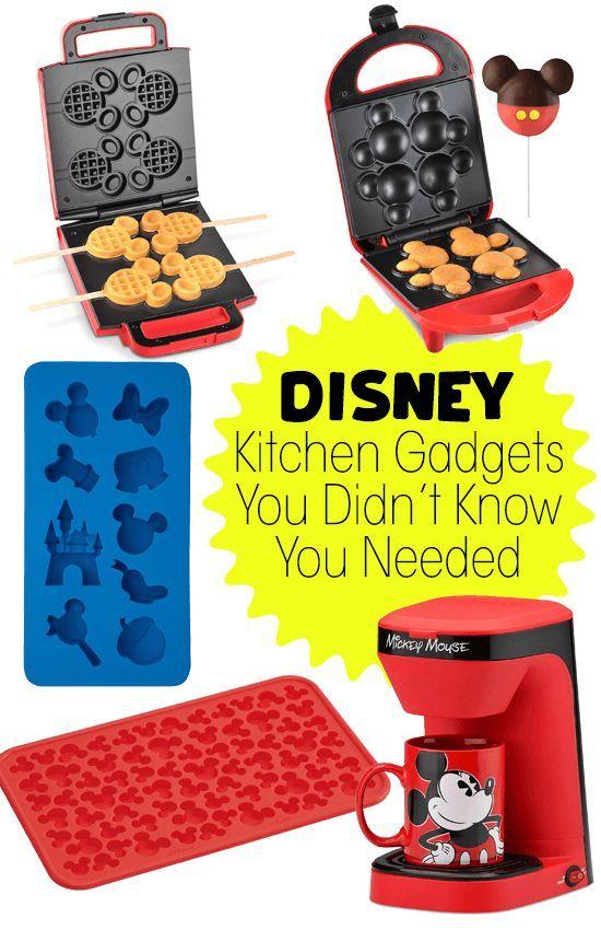Disney Kitchen Gadgets You Didn't Know You Needed — Temporary Tourist #disneykitchen