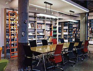 Kaneko-UNO Library study space, Omaha, NE.