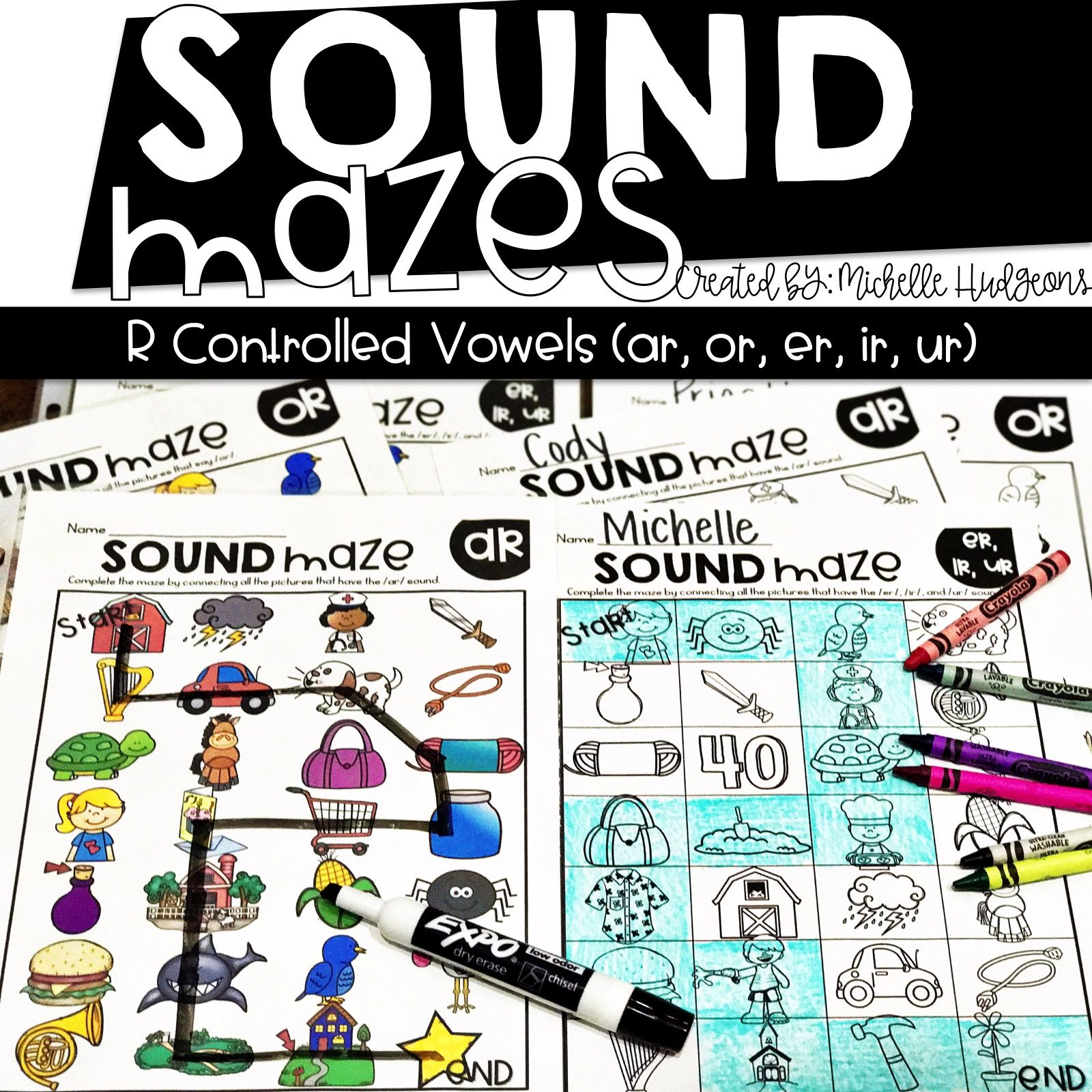 Sound Mazes For R Controlled Vowels