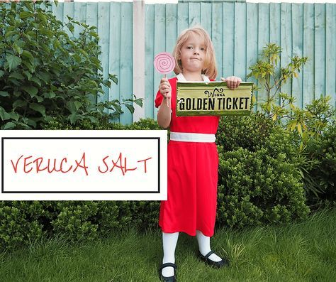 Roald dahl day costumes simple easy diy fancy dress ideas for roald simple easy diy fancy dress ideas for roald dahl dressing up day for boys and girls veruca saly girls dress costume can also be used for world book solutioingenieria Images