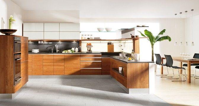linee Küche von TEAM 7 mit Apothekerschrank, integriertem - küchen team 7
