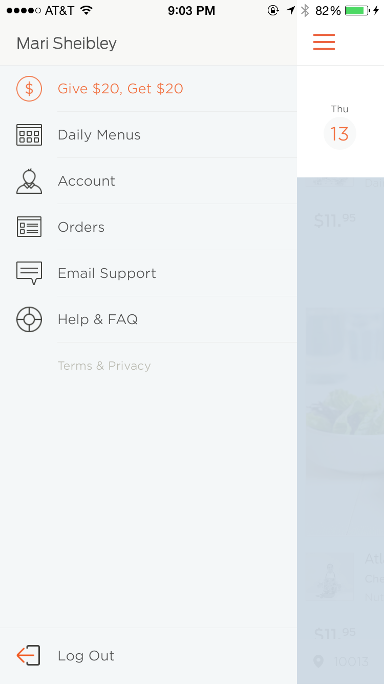 Color Scheme Drawer Icon Navigation App Design Interactive Design