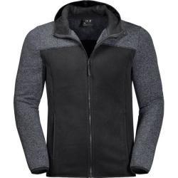 Photo of Jackwolfskin Herren Fleecejacke Elk Hooded jacket, Größe L in black, Größe L in black Jack Wolfskin